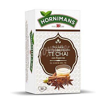 Hornimans Té chai con especias estuche 20 bolsitas Estuche 20 bolsitas