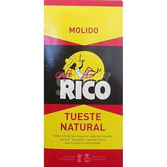 Rico Café molido natural Paquete 250 g