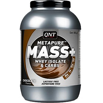 QNT Metapure Mass+ Sabor chocolate Envase 1100 g
