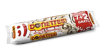 Donettes Rayados Paquete 7+2 unid