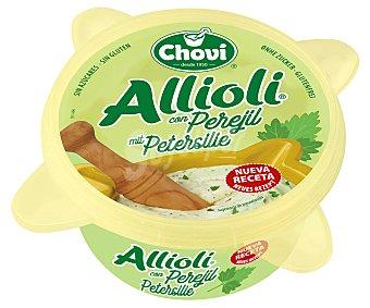 Chovi Salsa allioli con perejil, sin gluten y sin azucar 150 g
