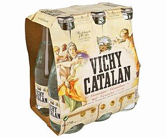 Vichy Catalan Agua mineral con gas Pack 6x25 cl
