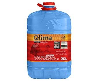 Qlima Combustible líquido para estufas portátiles Garrafa de 20 litros