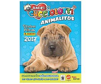 Panini Álbum de cromos coleccionables Amici Cucciolotti Animalitos 2017 PANINI