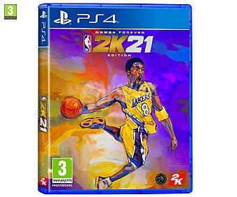 Deportes NBA 21 Edición Leyenda para Playstation 4. Género: , baloncesto. pegi: +3 2k