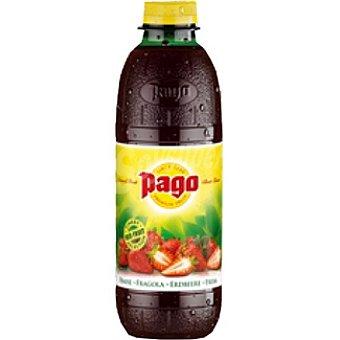 Pago Zumo 100% concentrado fresa Botella 75 cl