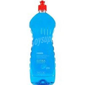 Eroski Lavavajillas mano concent. purificante Botella 1 litro