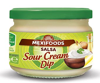 Mexifoods Salsa sour cream, 240 gramos