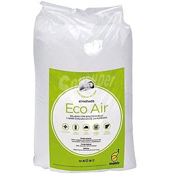 MASH Kol Eco Air Almohada de fibra con relleno efecto muelle y gran evacuación de la humedad 135 cm