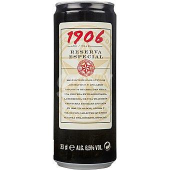 1906 cerveza rubia nacional extra lata 33 cl lata de 33 cl