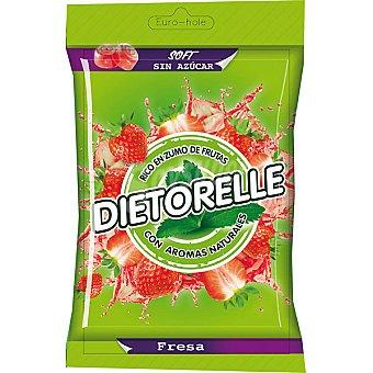 Dietorelle Caramelos de goma sabor a fresa sin azúcar 50 g