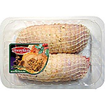 AVECLASS Muslo pollo relleno de jamón y queso peso aproximado Bandeja 800 g