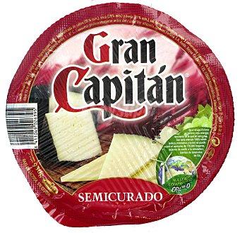 """Gran Capitán Queso """"mini"""" semicurado de vaca, cabra y oveja 950 gramos"""