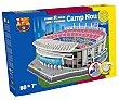 Puzzle estadio Camp Nou en 3D con 80 piezas, Barcelona. Fc barcelona