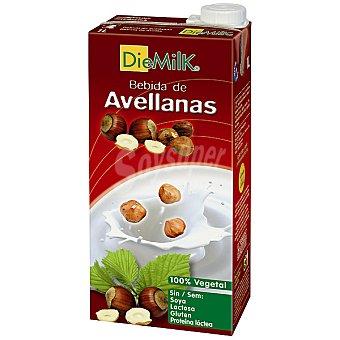 Diemilk Bebida de avellana 100% vegetal Envase 1 l