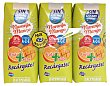 Frutas+leche naranja mango sin azucar 3 x 330 cc Hacendado
