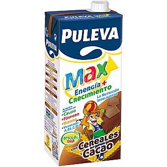 Puleva Max Prep. Lácteo Energía con cacao-cereales Brik 1 litr