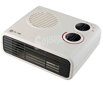S&P TL10N Termoventilador horizontal, potencia max: 2000w, 2 niveles de calor, función ventilación, termostato