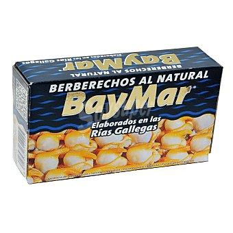 Baymar Berberechos de las rías gallegas al natural Baymar 58 g