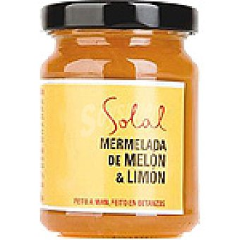 SOLAL Mermelada de melón y limón Frasco 170 g