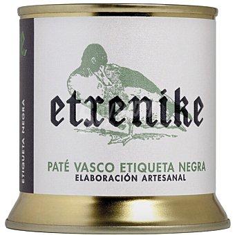 Etxenike Paté de ave etiqueta negra elaboración artesanal Lata 190 g