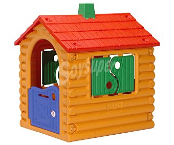 INJUSA The hut Casa infantil de jardín de troncos The hut, INJUSA.