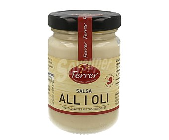 Ferrer Salsa ali oli sin huevo Bote 140 g