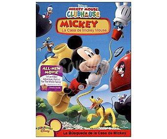 Disney La casa de Mickey Mouse 1: La búsqueda de la casa Mickey, 2007. Serie en Dvd. Género: infantil, preescolar, animación. Edad: TP