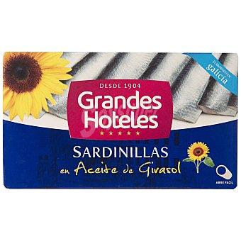 Grand hotel Sardinilla en aceite de girasol 62 g