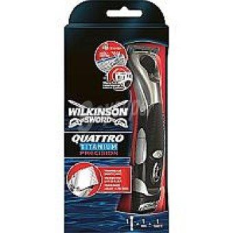 WILKINSON Quattro Titanium Maquinilla de precisión Pack 1 unid