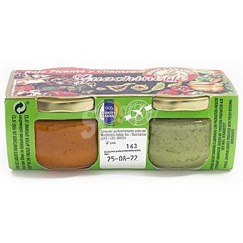 Guachinerfe Mojo rojo, picante y cilantro sin gluten sin lactosa Pack de 2 tarros de 120 g