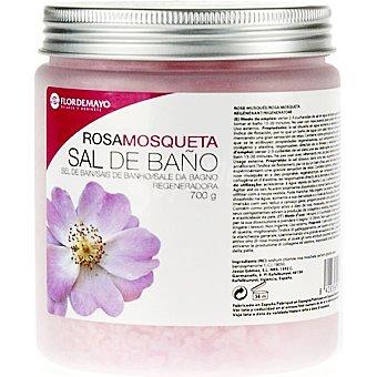 FLOR DE MAYO sales de baño Rosa Mosqueta regeneradora tarro 700 g