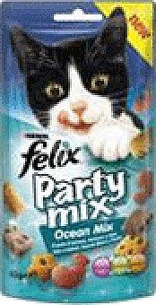 Party Snack gato felix mix ocean 60 GRS