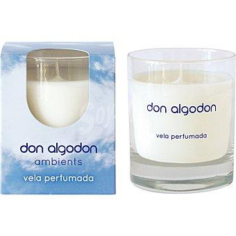 Don Algodón Ambientador vela perfumada Envase 1 ud