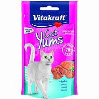 Vitakraft Cat Yums de salmón-trucha Paquete 40 g