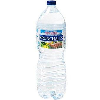 BRONCHALES Agua mineral sin gas con mineralización muy débil  botella 2 l