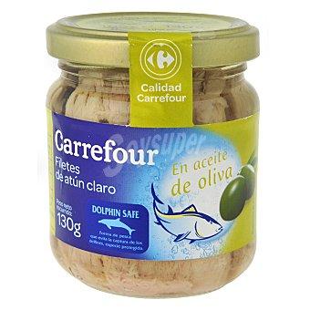 Carrefour Atún claro en aceite de oliva 130 g