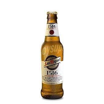 San Miguel Cerveza 1516 botella de tercio 33 cl