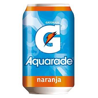 Aquarade bebida isotónica sabor naranja  lata 33 cl