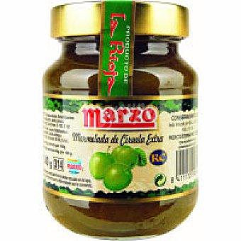 Marzo Mermelada de ciruela Frasco 400 g