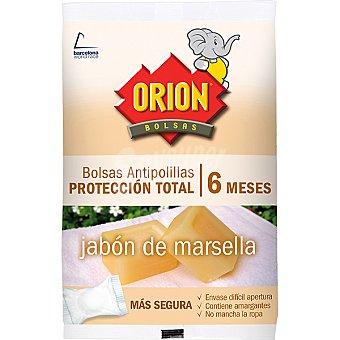 Orion Antipolillas al jabón de Marsella protección total en bolas bolsa 20 unidades Bolsa 20 unidades