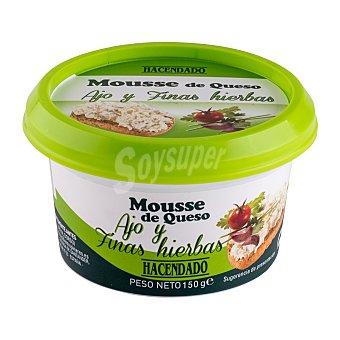 Hacendado Queso mousse de ajo y finas hierbas Tarrina de 150 g
