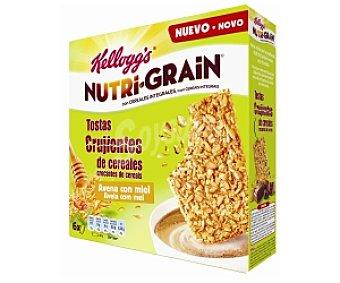 Nutri Grain Kellogg's Tosta crujiente cereales y miel 240 g