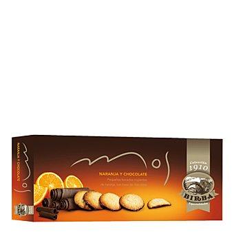 Birba Galletas de naranja con base de chocolate 120 g