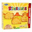 Galleta de cereales con forma de dinosaurios Caja 411 g Dinosaurus Artiach