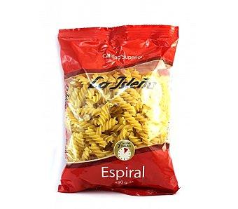 La Isleña Espirales, pasta de sémola de trigo duro de calidad superior 250 Gramos