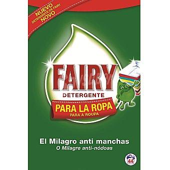 Fairy Detergente máquina en polvo Maleta 44 cacitos