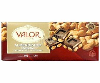 Valor Chocolate almendrado especial puro 250 Gramos