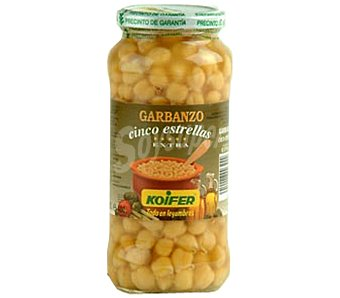 Luengo Garbanzo con verdura Tarro 570 g