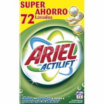 Ariel Detergente máquina polvo Maleta 72 dosis